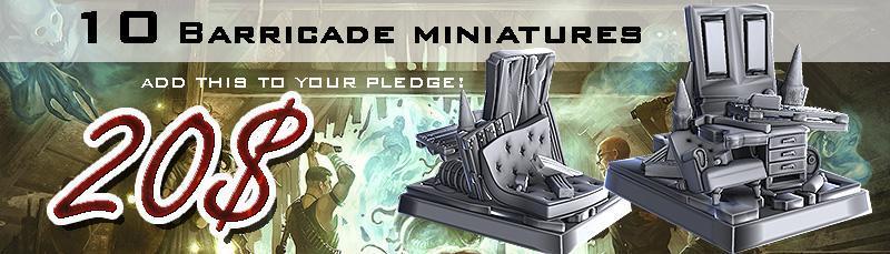 pandemonium add on barricade miniatures