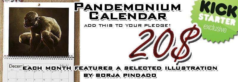 pandemonium add on calendar