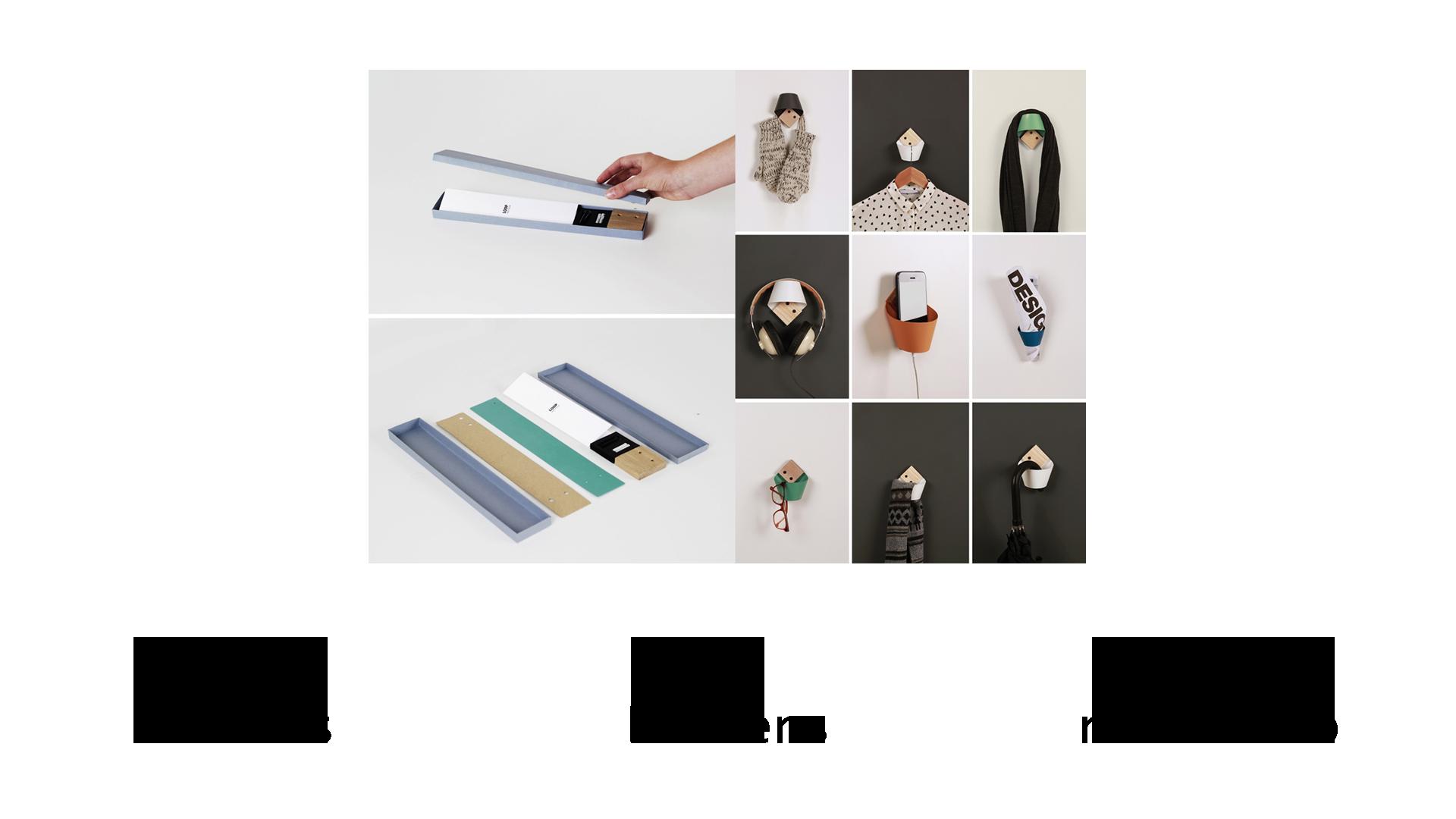 loop wall hook proyecto kickstarter laselva studio SYBIC crowdfunding