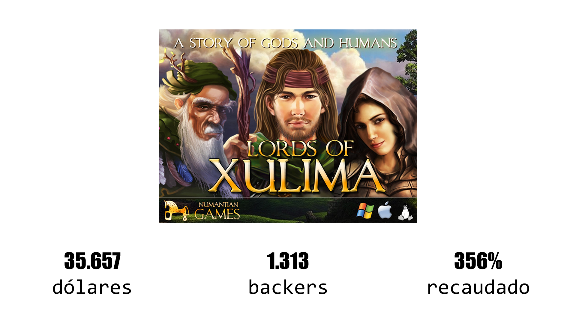 lords of xulima proyecto kickstarter españa SYBIC crowdfunding