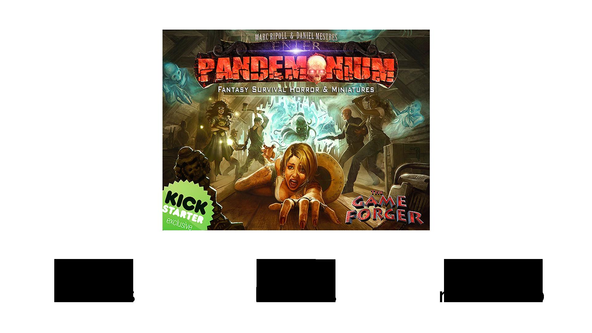 pandemonium proyecto kickstarter españa SYBIC crowdfunding